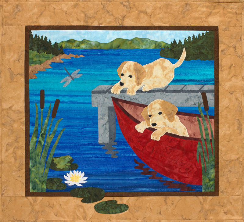 Puppy Canoe Sweet Season Quilts