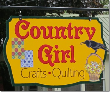 1. Country Gril Sign
